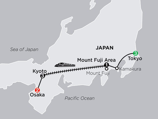 Classic Japan: The Golden Route with Osaka