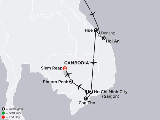 Simply Vietnam with Cambodia
