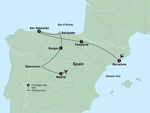 The Novelties of Northern Spain