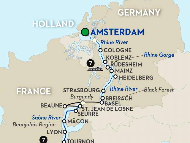 Rhine & Rhône Revealed for Wine Lovers