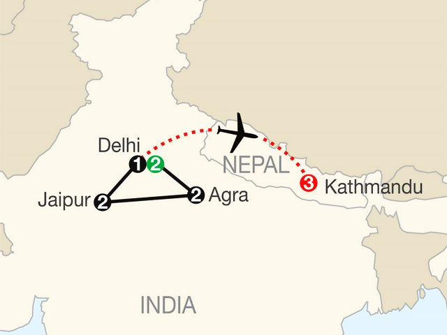 India Escape with Kathmandu