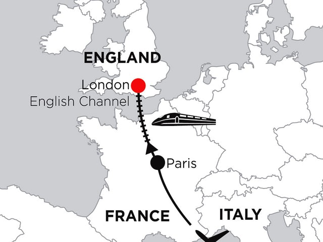 4 Nights Rome, 3 Nights Paris & 5 Nights London