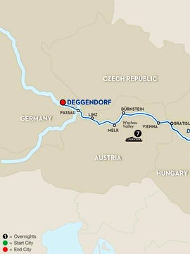Danube Dreams with Habsburg Royalty - Cruise Only