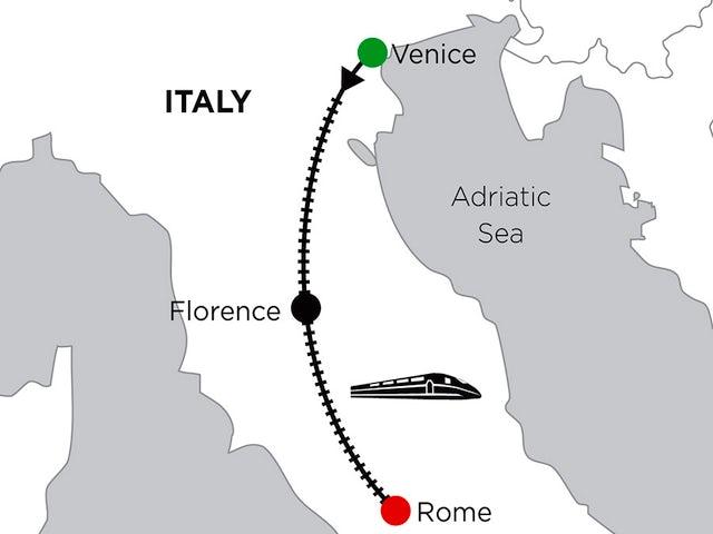 2 Nights Venice, 2 Nights Florence & 2 Nights Rome