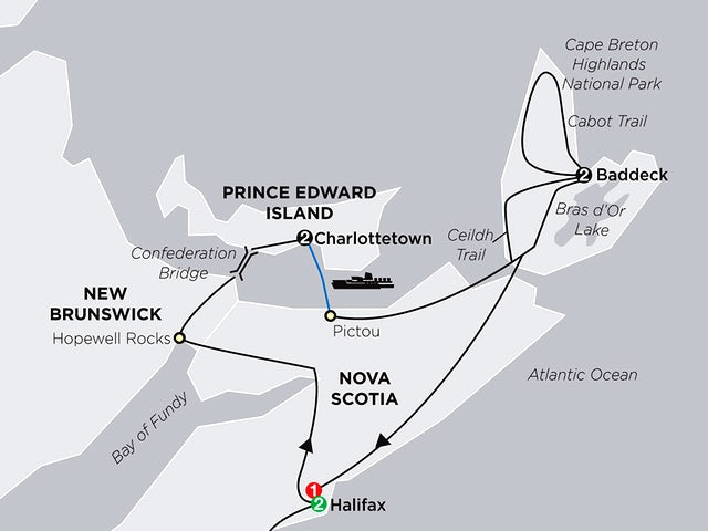 Atlantic Canada's Coastal Wonders