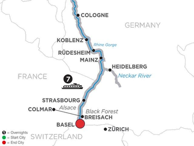 Romantic Rhine & Jewish Heritage