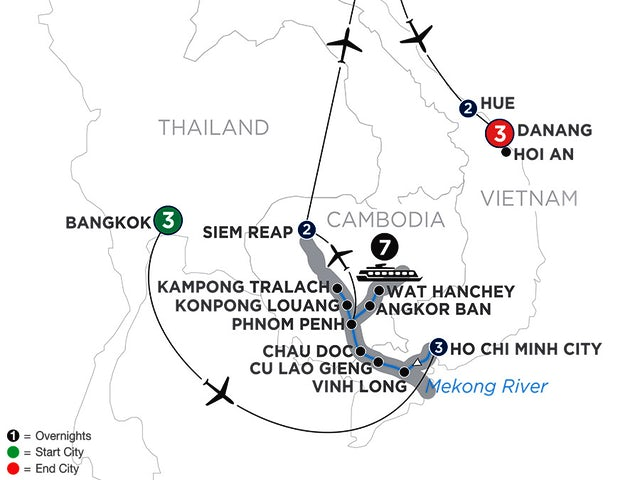 Ultimate Southeast Asia & The Majestic Mekong with Hue & Danang – Northbound