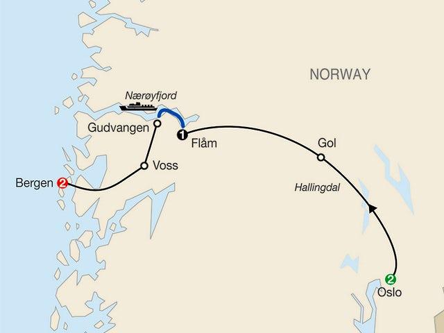 Norwegian Fjords Escape
