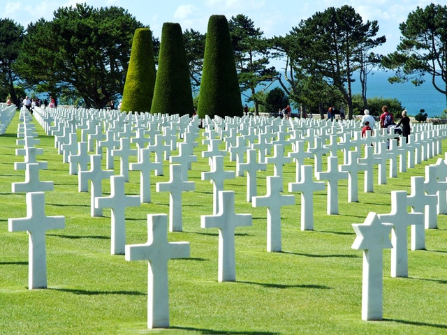 Memorials of World War II featuring the 75th Anniversary of the D-Day Landing