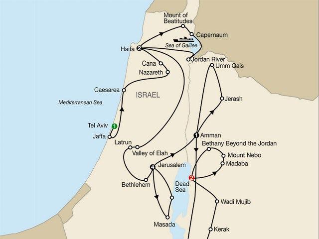 Israel Escape with Jordan