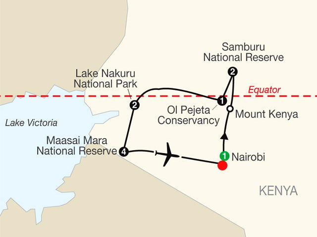Kenya: A Classic Safari with Maasai Mara Extended Stay