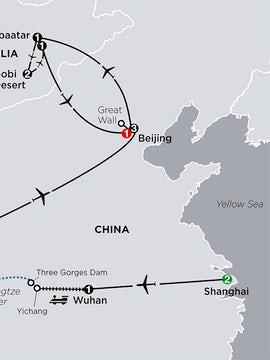Spirit of China & the Yangtze River with Mongolia