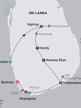Grand Tour of Sri Lanka with Bentota