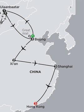 China Experience with Mongolia & Hong Kong