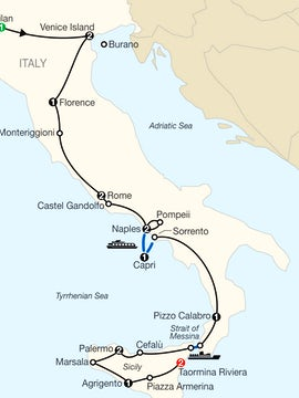 The Best of Italy & Sicily