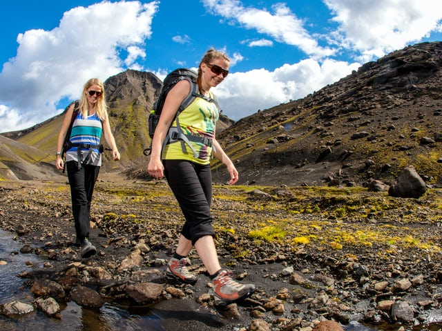 Trekking in Iceland - The Laugavegur Trail