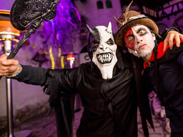 Dracula's Halloween Party in Transylvania