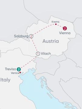 Veneto to Vienna Explorer