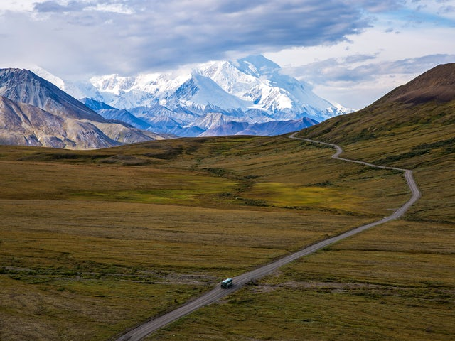 Camping in Scenic Alaska and Denali