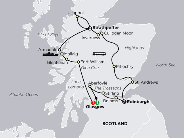 Scottish Outlander Adventure