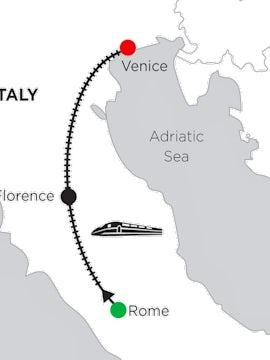 5 Nights Rome, 3 Nights Florence & 2 Nights Venice