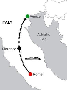 5 Nights Venice, 4 Nights Florence & 2 Nights Rome