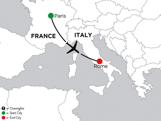 4 Nights Paris & 2 Nights Rome