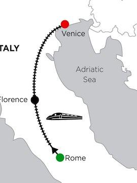 5 Nights Rome, 2 Nights Florence & 5 Nights Venice