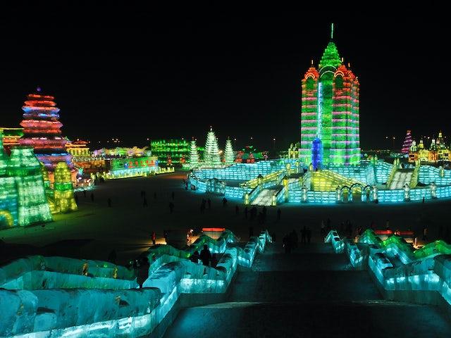 Experience Harbin Ice Festival & Beijing